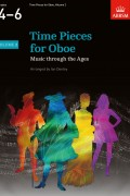 Time Pieces for Oboe Volume 2 G4-5(반주보 포함)