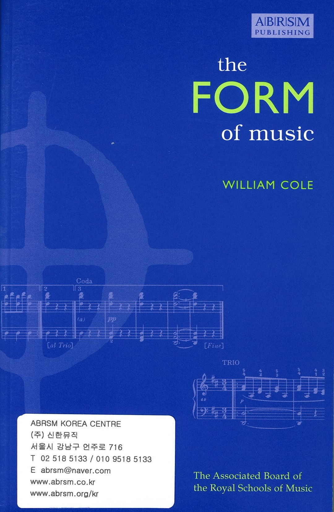 The Form of Music