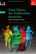 Time Pieces for Treble/Alto Recorder Volume 2 for Grades 4-5