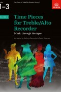 Time Pieces for Treble/Alto Recorder Volume 1 for Grades 1-3