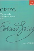 Grieg: Thirty-eight Pianoforte Pieces Book 1