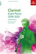 클라리넷 시험곡집 2018-2021 G5(반주보 포함)