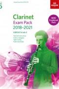 클라리넷 Exam Pack 2018-2021 G5(반주보 포함)