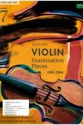 바이올린 시험곡집 2001-2004 G7