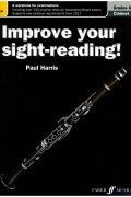 Improve your sight-reading for Clarinet G6-8