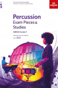 Percussion Exam Pieces & Studies G4 from 2020