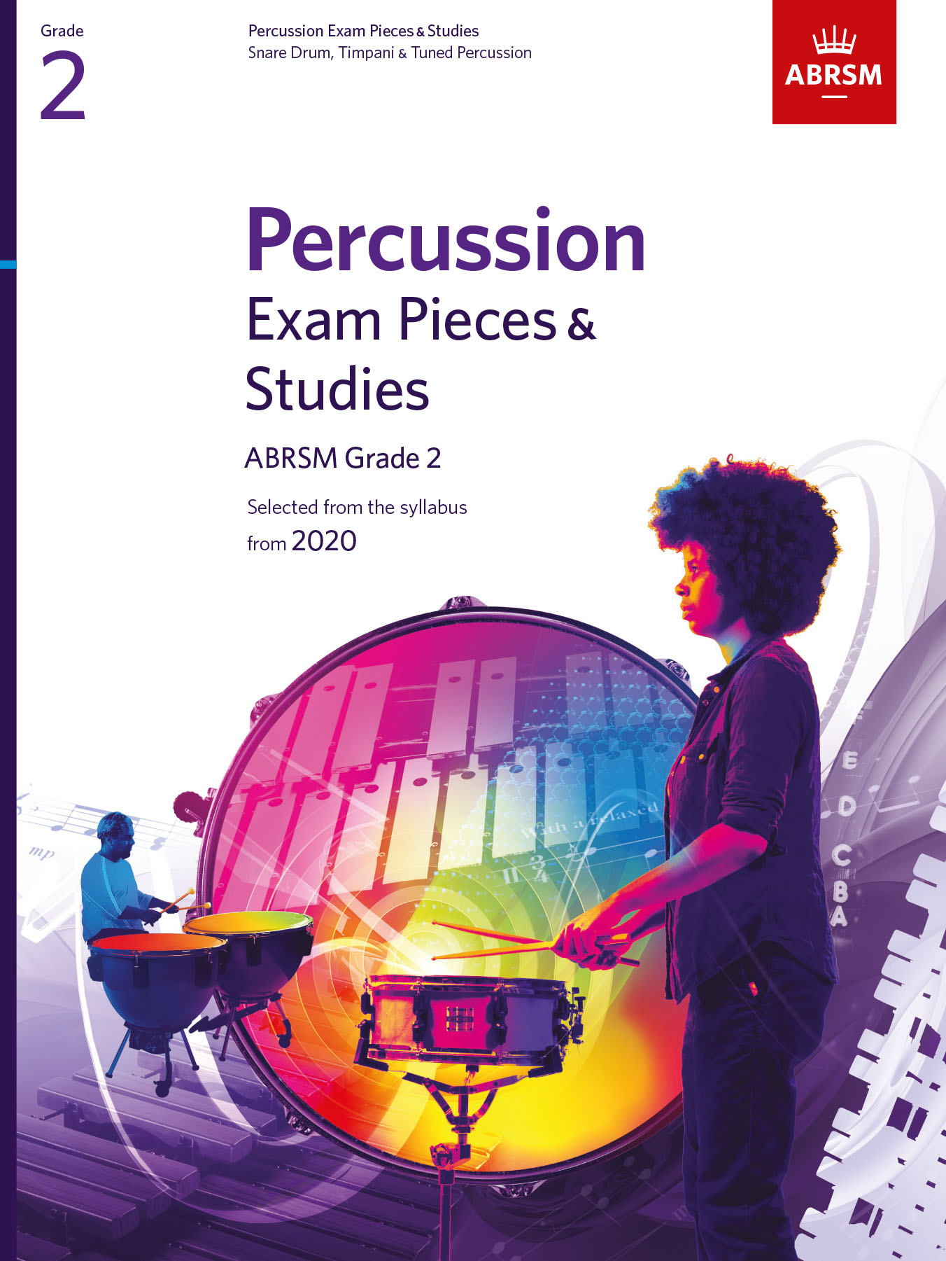Percussion Exam Pieces & Studies G2 from 2020