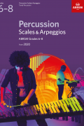 Percussion Scales & Arpeggios G6-8 from 2020