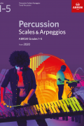 Percussion Scales & Arpeggios G1-5 from 2020