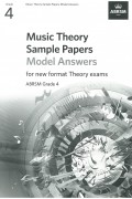 Music Theory Sample Paper G4 Model Answer from 2021