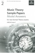 Music Theory Sample Paper G2 Model Answer from 2021