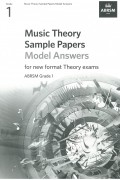 Music Theory Sample Paper G1 Model Answer from 2021