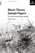 Music Theory Sample Paper G1 from 2021