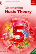 DIscovering Music Theory G5 Answer Book from 2021