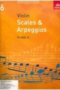 바이올린 스케일 & 아르페지오 G6